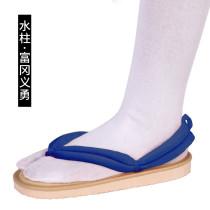 [Kids/Adults] Anime Demon Slayer Giyu Tomioka Cosplay Accessories Coaplay Shoes Coaplay Clogs