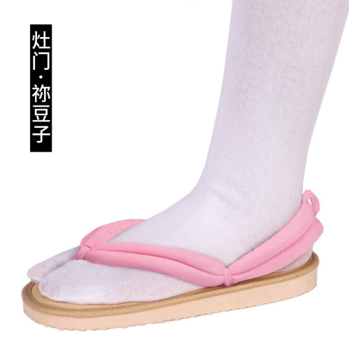 [Kids/Adults] Anime Demon Slayer Nezuko Kamado Cosplay Accessories Coaplay Shoes Coaplay Clogs