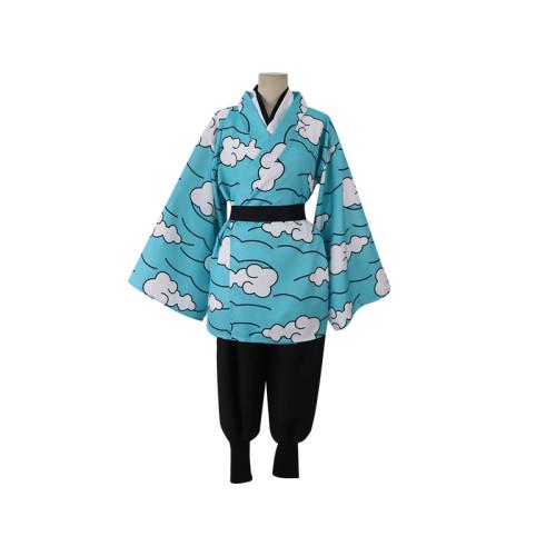 [Kids/ Adults] Anime Demon Slayer Cosplay Costume Urokodaki Sakonji Costume Halloween Popular Costume