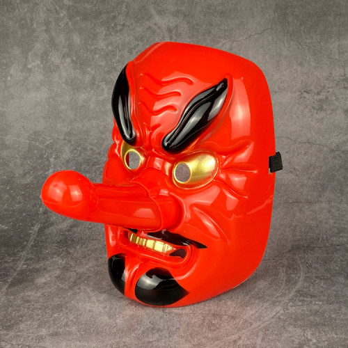 Anime Demon Slayer Cosplay Costume Urokodaki Sakonji Costume Props Costume Mask Halloween Mask