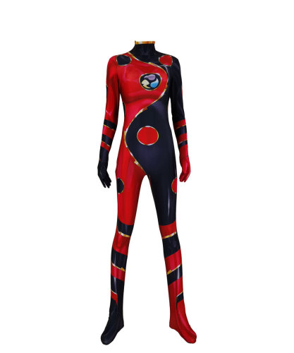 [Kids/Adults]Miraculous Ladybug Costume Zentai Halloween Cosplay Jumpsuit Costume Unique