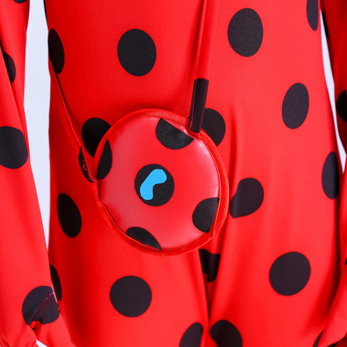 [Kids/Adults]Miraculous Cosplay Costume Ladybug Cosplay Full Set With Wigs Eye Mask and Bag