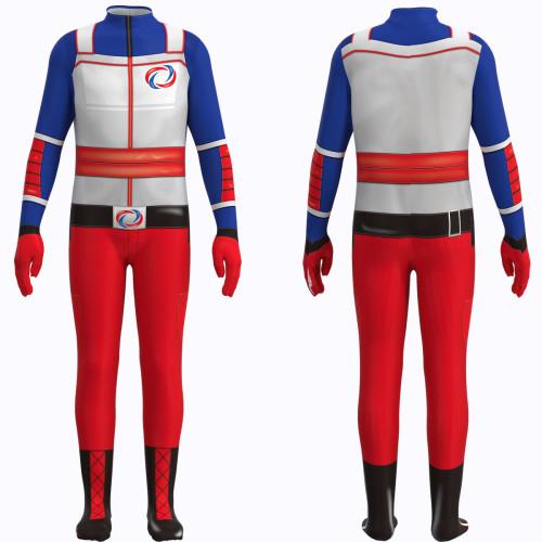 [Kids/Adults]The Adventures of Kid Danger Cosplay Costume Kid Danger Henry Hart Halloween Cosplay Costume Zentai