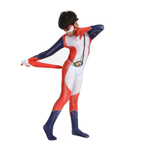 Kids Halloween Costume Miraculous Fox Trixx Costume Zentai Girls Boys Halloween Cosplay Jumpsuit