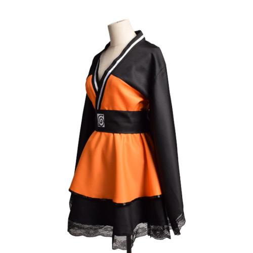 Anime Naruto Lolita Dress 2021 Halloween Women Girls Naruto Cosplay Dress Costume New