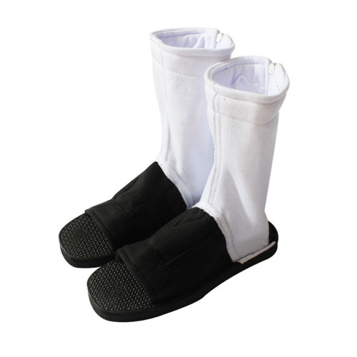 Naruto Akatsuki Cosplay Shoes Black and White Cosplay Boots Accessories