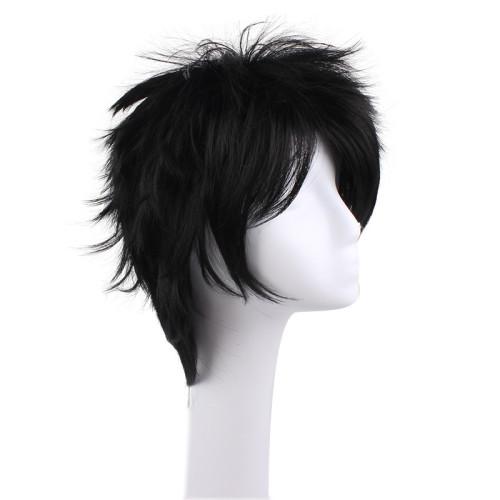 Anime Naruto Sasuke Uchiha Cosplay Wigs With Headband
