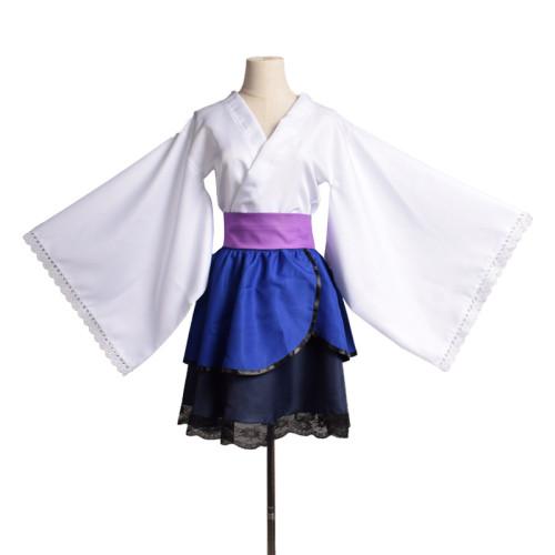 Anime Naruto Sasuke Uchiha Lolita Dress 2021 Halloween Women Girls New Costume