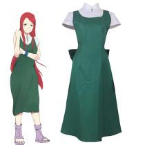 Anime Naruto Uzumaki Kushina Cosplay Costume Halloween Costume Dress