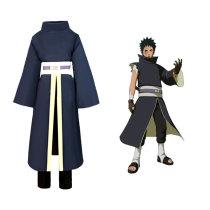 Anime Naruto Obito Uchiha Cosplay Costume Kimono Suit Halloween Costume