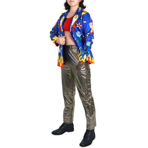 The Suicide Squade Harley Quinn Suits Costume Hallween Cosplay Costume Set