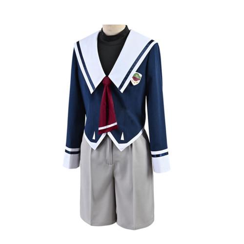 Anime Sk8 the Infinity Miya Chinen Cosplay Costume School Uniform With Hat Halloween Costume