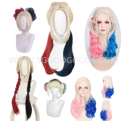 The Suicide Squad(2021)Harley Quinn Cosplay Wigs Long