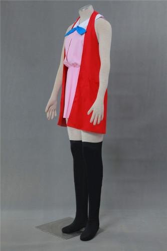 [Kids/Adults] Pokemon Pocket Monster XY Serena Pink Dress Cosplay Costume Halloween Costume Suit