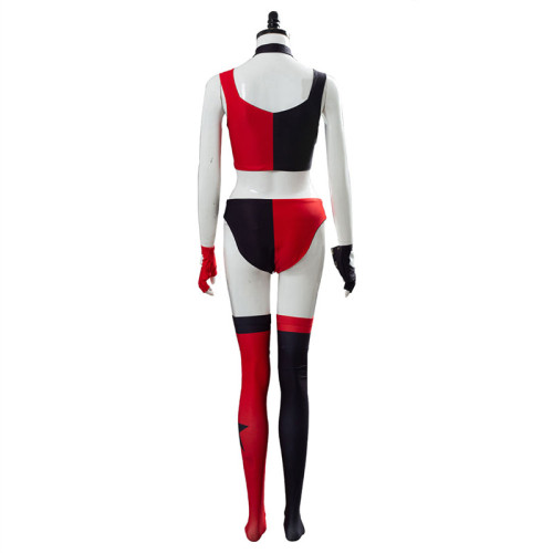 The Suicide Squade Harley Quinn Cosplay Costume Fitness Costume Full Set