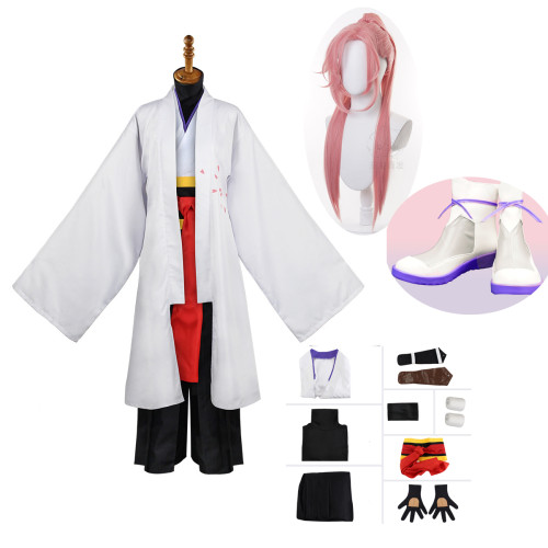 Anime Sk8 the Infinity Cherry blossom Cosplay Costume Whole Set With Wigs and Shoes