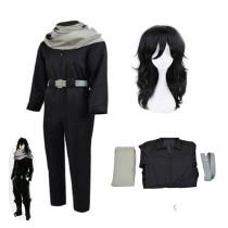 Anime My Hero Academia Aizawa Shouta Cosplay Costume With Wigs Set Halloween Cosplay Outfit