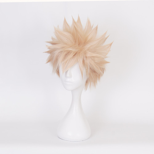 Anime My Hero Academia Bakugou Katsuki Cosplay Wigs