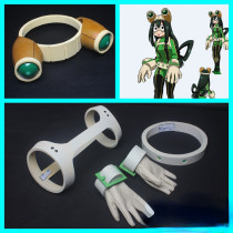 Anime My Hero Academia Asui Tsuyu FROPPY Cosplay Accessories Props Full Set