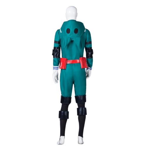 Anime My Hero Academia Midoriya Izuku Deku Cosplay Costume Green Fighting Suit Costume Halloween Costume