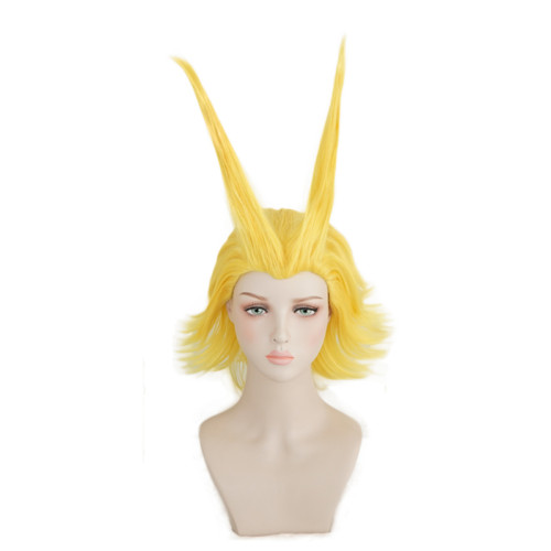 Anime My Hero Academia All Might Cosplay Wigs Yellow Two Styles