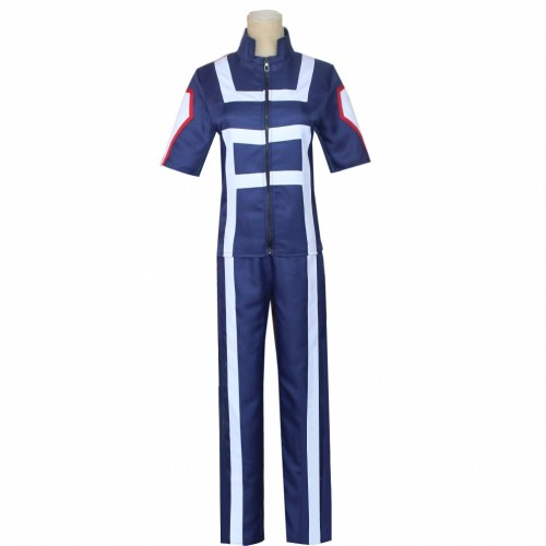 Anime My Hero Academia Training Suit Costume All Characters Cosplay Sport Suit Costume