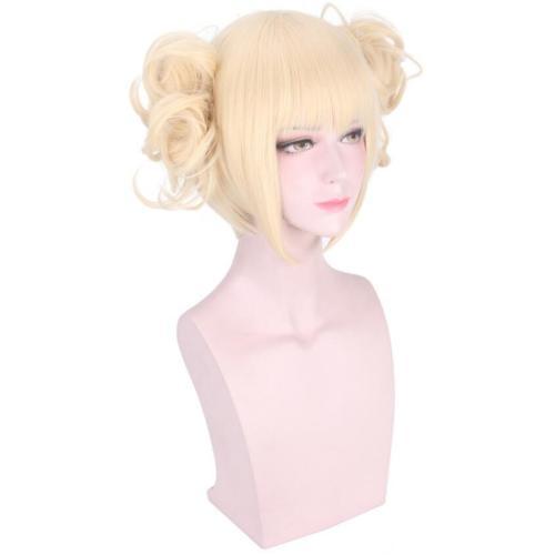 Anime My Hero Academia Cross my body / Himiko Toga Cosplay Wigs