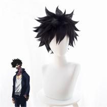Anime My Hero Academia Dabi Cosplay Wigs Black