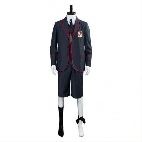 The Umbrella Academy School Uniform Costume Halloween Male Cosplay Costume