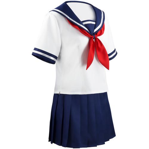 Game Yandere Simulator Cosplay Ayano Aishi Costume Yandere Chan JK School Uniform Women Outfit