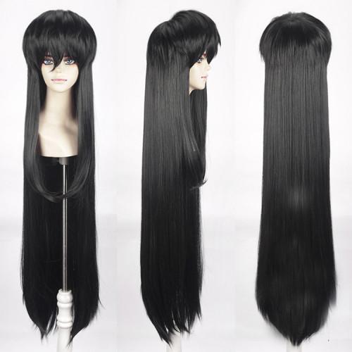 Anime Inuyasha Sesshoumaru Cosplay Wigs Black / White Long Wigs