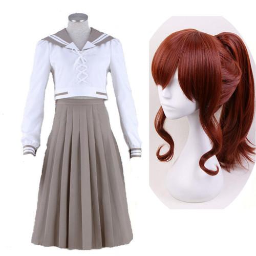 Anime Sailor Moon Kino Makoto Cosplay Costume Sailor Suit Uniform With Wigs Set Halloween Costume
