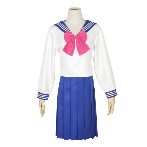 Anime Sailor Moon Tsukino Usagi Costume Sailor Suit Uniform Cosplay Outfit Carnival Halloween Cosplay Costume Outfit