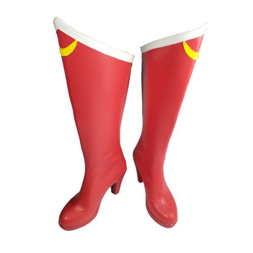 Anime Sailor Moon Tsukino Usagi Cosplay Accessories Cosplay Boots Red