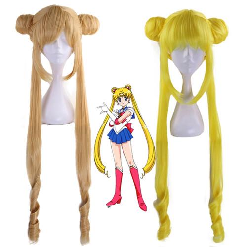 Anime Sailor Moon Tsukino Usagi Cosplay Wigs Halloween Cosplay Accessories
