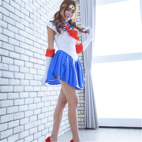 [Kids /Adults ] Anime Sailor Moon Tsukino Usagi Halloween Cosplay Costume Uniform Suit