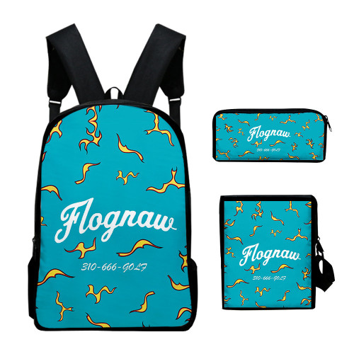 Tyler The Creator Backpack 3pcs Set School Backpack Cross Body Bag and  Stationery bag Pencil Bag