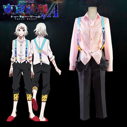 Anime Tokyo Ghoul Juuzou Suzuya Rei Cosplay Costume Set Halloween Cosplay Outfit
