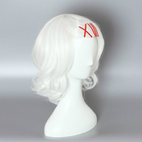 Anime Tokyo Ghoul Juuzou Suzuya Rei Cosplay Costume Wigs White Wigs