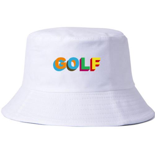 Tyler The Creator Golf Bucket Hat Unisex Black/White