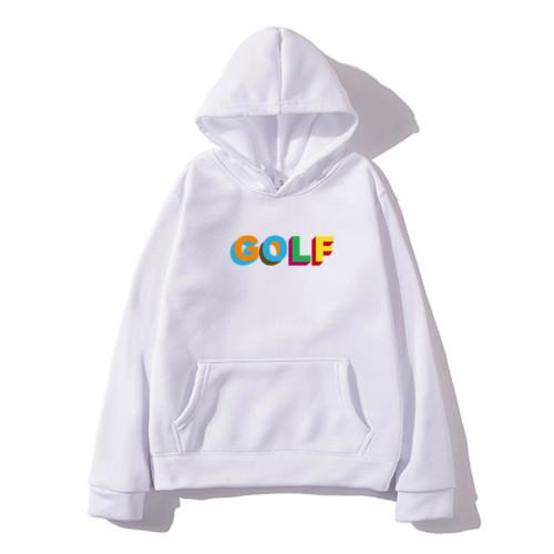 Tyler The Creator Golf Print Hoodie Trendy Youth Adults Sweatshirt Casual Hooded Streetwear