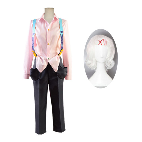 Anime Tokyo Ghoul Juuzou Suzuya Rei Cosplay Costume Whole Set With Wigs Carnival Halloween Party Cosplay Outfit