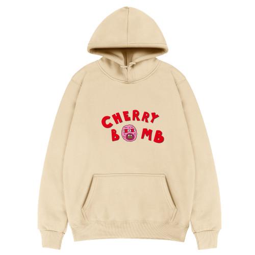 Tyler The Creator Cherry Hoodie Unisex Long Sleeve Hooded Fleece Sweatshirt Outfit