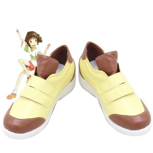Anime Movie Spirited Away Ogino Chihiro Cosplay Shoes