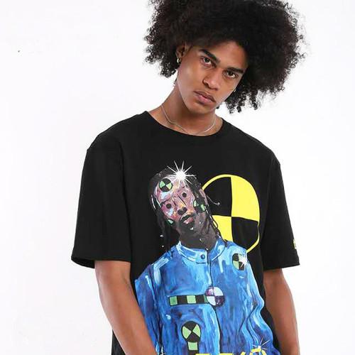 Asap Rocky T-shirt Men Women Casual Streetwear Tee Hip Hop Harajuku Pullovers