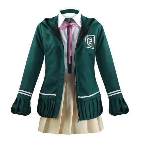 Danganronpa Nanami ChiaKi Cosplay Costume With Wigs Set Long-sleeved Jacket Short Skirt Loli Skirt Halloween Costume