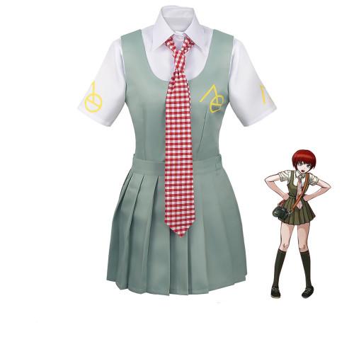 Anime Danganronpa Koizumi Mahiru Cosplay Costumes Japanese Uniform Sailor Suit Women Dress Girls Halloween Costume