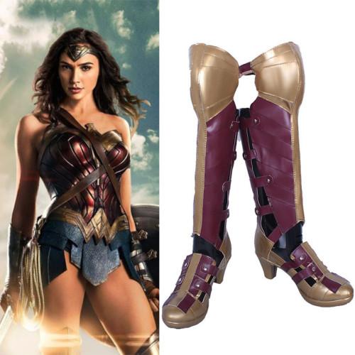 Wonder Women Cosplay Boots Halloween Cosplay Accessories Shoes
