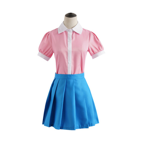 Danganronpa 2: Goodbye Despair Mikan Tsumiki Cosplay Costume Maid Costume Halloween Party Outfit
