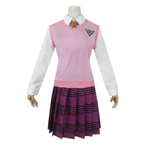 Danganronpa V3 Kaede Akamatsu Cosplay Uniform Halloween Cosplay Suit Outfit